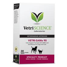 VetriScience Vetri SAMe 90 MG Liver Support for Small Dogs and Cats