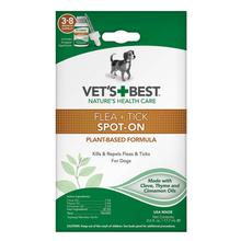 Vet's Best Flea + Tick Spot-On Dog Treatment