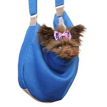 Vienna Sling Pet Carrier by Hello Doggie - Caribbean Blue