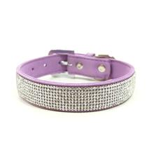 VIP Bling Dog Collar by Dogo - Lavender