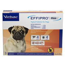 Virbac EFFIPRO PLUS Topical Solution for Dogs - 3 Doses
