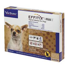 Virbac EFFITIX PLUS Topical Solution for Dogs - 3 Doses