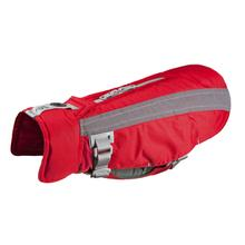 Vortex Parka Dog Coat - Red and Grey