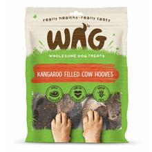 WAG Kangaroo Filled Cow Hooves Dog Treat