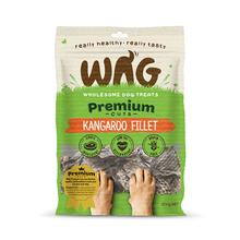 WAG Kangaroo Fillet Dog Jerky Treats