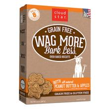 Cloud Star Wag More Bark Less Grain Free Baked Dog Treat - Peanut Butter and Apple