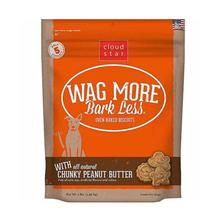 Wag More Bark Less Original Dog Treat - Crunchy Peanut Butter