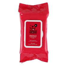 Wags & Wiggles Freshen Deodorizing Wipes - Fresh Strawberries