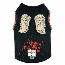 The Walking Dead Daryl's Wings Dog Shirt - Black