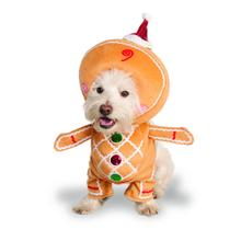 Walking Gingerbread Man Dog Costume by Rubies