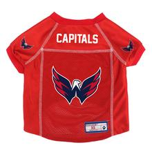 Washington Capitals Mesh Dog Jersey - Red