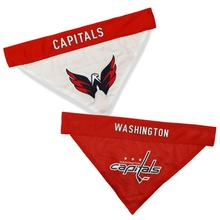 Washington Capitals Reversible Dog Bandana Collar Slider