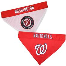 Washington Nationals Reversible Dog Bandana Collar Slider
