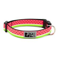 Watermelon Adjustable Clip Dog Collar By RC Pets