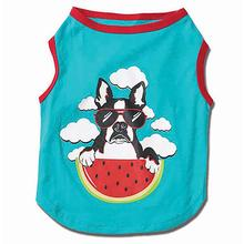 Watermelon Dog T-Shirt - Aqua