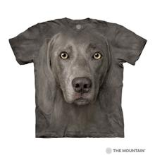 Weimaraner Face Human T-Shirt by The Mountain