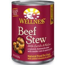 Wellness Beef Stew with Carrots & Potatoes Grain-Free Canned Dog Food