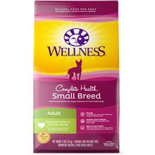 Wellness Complete Health Small Breed Adult Dry Dog Food - Deboned Turkey & Oatmeal Recipe