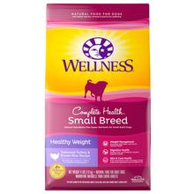 Wellness Complete Health Small Breed Dog Food - Healthy Weight Recipe