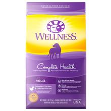 Wellness Complete Health Dog Food - Chicken and Oatmeal