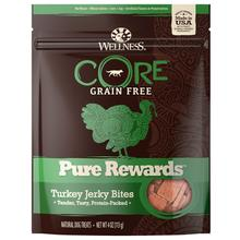 Wellness CORE Natural Grain Free Pure Rewards Jerky Bites - Turkey Jerky