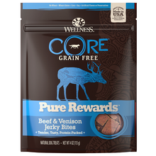 Wellness CORE Natural Grain Free Pure Rewards Jerky Bites - Beef & Venison