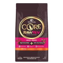 Wellness CORE RawRev Small Breed Dog Food - Original + 100% Raw Turkey