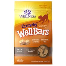 Wellness Grain-Free Wellbars Crunchy Dog Treats - Peanut & Honey