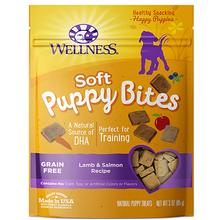 Wellness Natural Grain-Free Soft Puppy Bites Treats - Lamb & Salmon