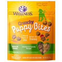 Wellness Natural Grain-Free Crunchy Puppy Bites Treats - Chicken & Carrots