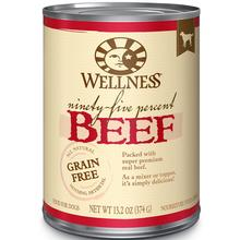 Wellness Ninety-Five Percent Beef Grain-Free Canned Dog Food