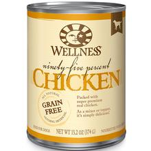 Wellness Ninety-Five Percent Chicken Grain-Free Canned Dog Food