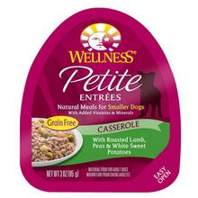 Wellness Petite Entrées Casserole Wet Dog Food - Roasted Lamb, Peas & Sweet Potato
