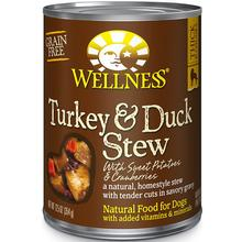 Wellness Turkey & Duck Stew with Sweet Potatoes & Cranberries Grain-Free Canned Dog Food