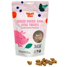 West Paw Freeze Dried Raw Dog Treat - Pork with Superfood