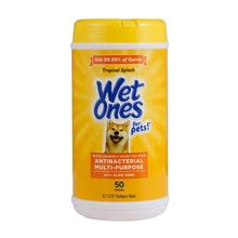 Wet Ones Anti-Bacterial All Purpose Dog Wipes - Tropical Splash