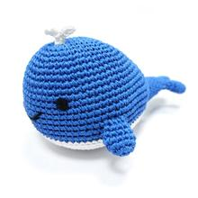 Whale Designed Crochet Dog Toy By Dogo