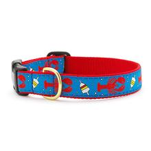 Lobster & Buoy Dog Collar by Up Country