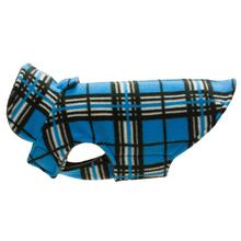 Whistler Winter Dog Coat - Blue Tartan