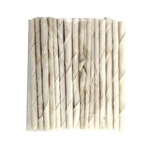 White Rawhide Twisted Sticks - 5