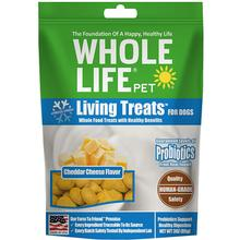 Whole Life Pet Living Treats Freeze-Dried Cheddar Cheese Dog Treats