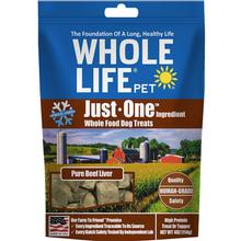 Whole Life Pet Just One Ingredient Freeze-Dried Beef Liver Dog Treats
