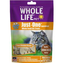 Whole Life Pet Just One Ingredient Freeze-Dried Chicken Cat Treats