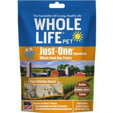 Whole Life Pet Just One Ingredient Freeze-Dried Chicken Dog Treats