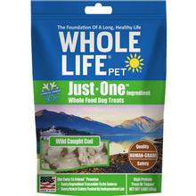 Whole Life Pet Just One Ingredient Freeze-Dried Cod Dog Treats