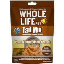 Whole Life Pet Tail Mix Freeze-Dried Peanut Butter Hemp Crunch Dog Treats