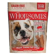 Sportmix Wholesomes Bruno's Pork Jerky Strips Dog Treats