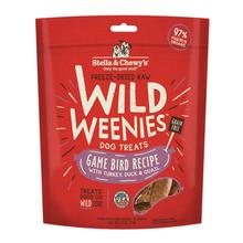 Stella & Chewy's Wild Weenies Freeze-Dried Raw Dog Treats - Game Bird