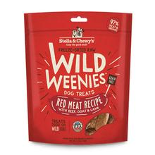 Stella & Chewy's Wild Weenies Freeze-Dried Raw Dog Treats - Red Meat Recipe
