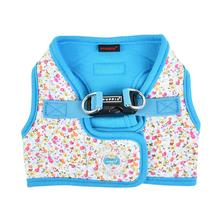 Wildflower Vest Dog Harness by Puppia - Sky Blue